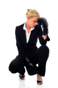 Why yes, I always box in a suit. It's so much less stressful than finding comfy workout attire.Image courtesy of Ambro / FreeDigitalPhotos.net