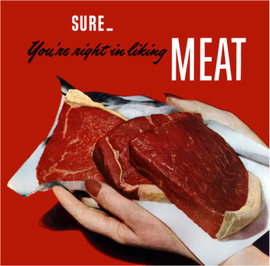 So eff all you vegetarian mofos.